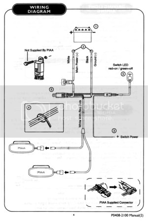 PIAA Relay Harness Wiring Diagram