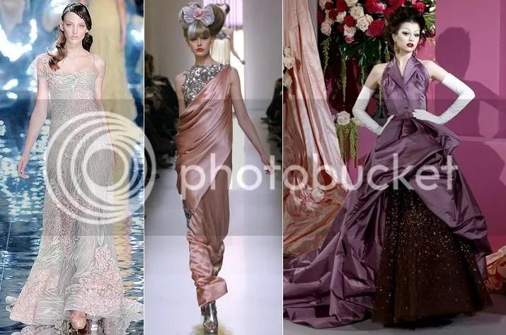 Elie Saab      Chanel      Dior