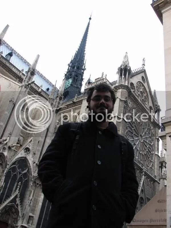 Umf infrigurat la Notre Dame