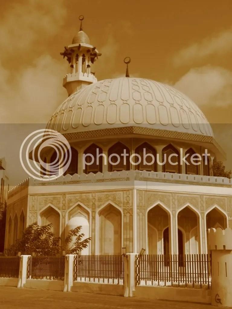 Moscheea de linga vechiul fort Al Hosn