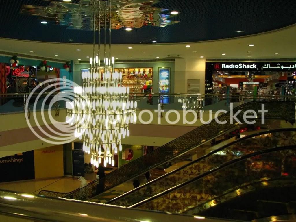 O poza dintr-un mall din Abu Dhabi