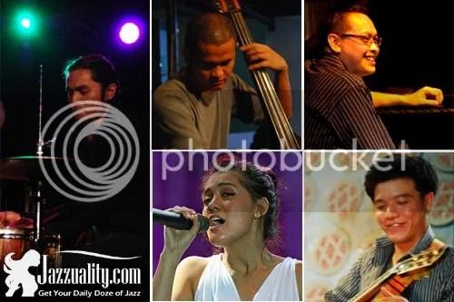 sandy winarta quartet, jazzuality, monita tahalea