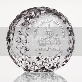 St. Louis by Waterford Crystal (2006 World Series Baseball)