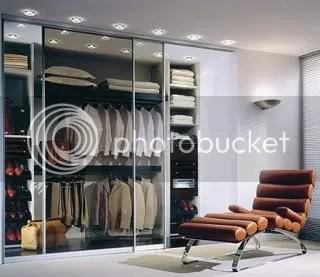 His closet by German closet manufacturer