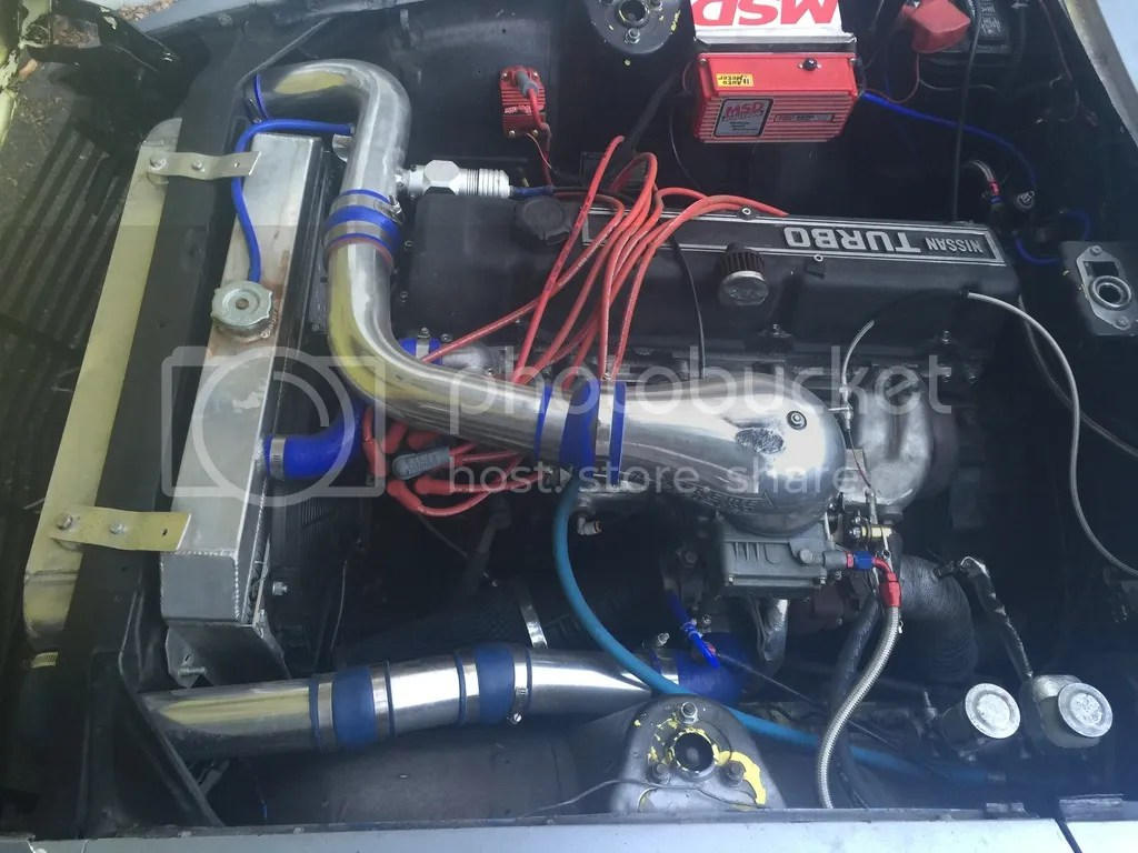 Dyno Results L28 Blowthrough Turbo