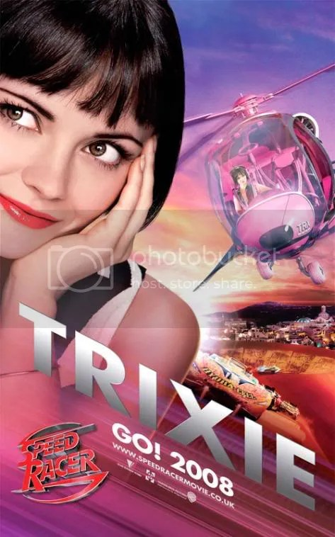 Trixie from Speed Racer