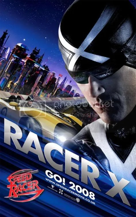 Racer X from Speed Racer
