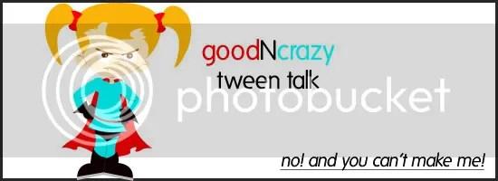 Goodncrazy Tween Talk superhero girl
