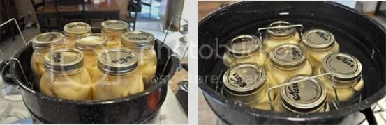 canning pears tutorial