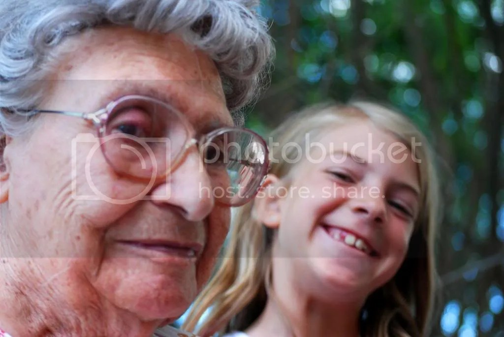 great grandma and great grand kid family reunion