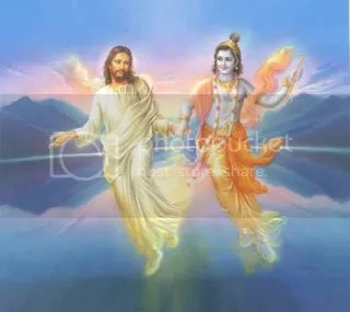 krishna-christ.jpg jesus and Krishna image by nickibwilde