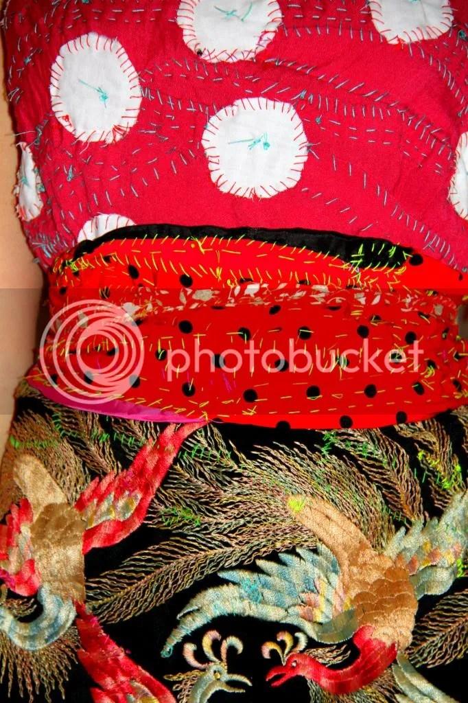 """Muy Marcottage """"Mottainai"""" kimono tailleur 02"""