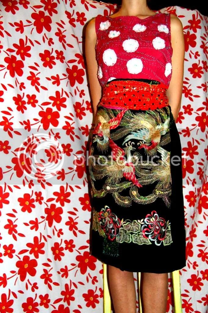 """Muy Marcottage """"Mottainai"""" kimono tailleur 04"""