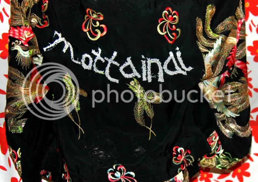 """Muy Marcottage """"Mottainai"""" kimono tailleur embroidery"""