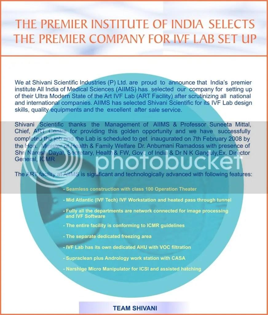 Shivani Scientific Industries
