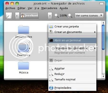 Abrir Terminal desde Carpeta o Nautilus en Ubuntu