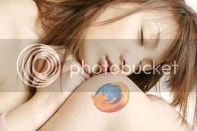 Chica Firefox