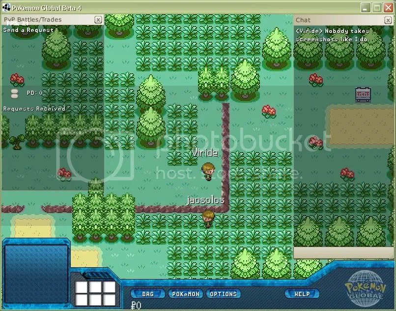 Pokemon Global map