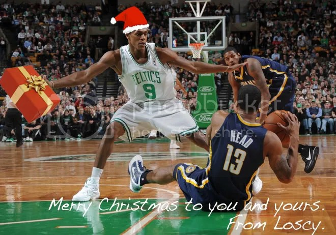 Merry Christmas to you and yours. From Loscy (and Santa Rondo).