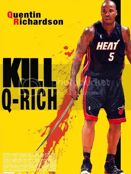 And for good measure: Kill Q-Rich!