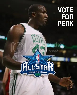 A vote for Perk is a vote for you.