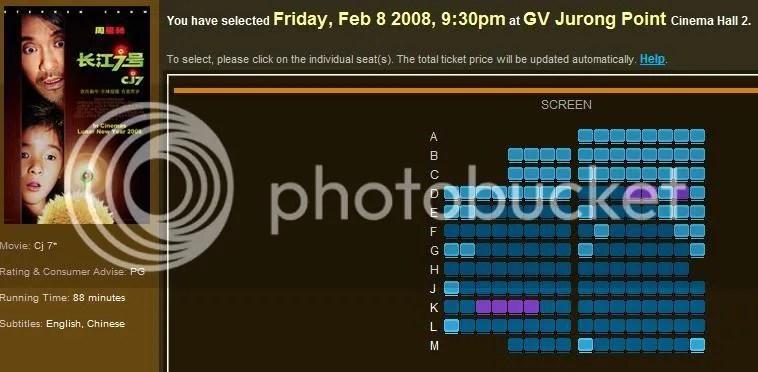 GV Jurong Point - CJ7 @ 2130hrs