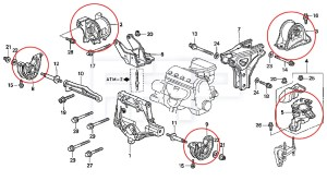 2000 Honda Civic 1 6 Engine Diagram | Wiring Source