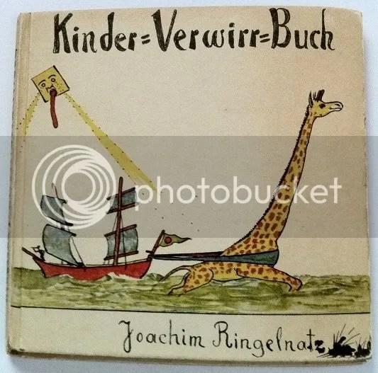 Joachim Ringelnatz, Geheimes Kinder-Verwirr-Buch mit vielen Bildern, 1931, via Flüsterspiel