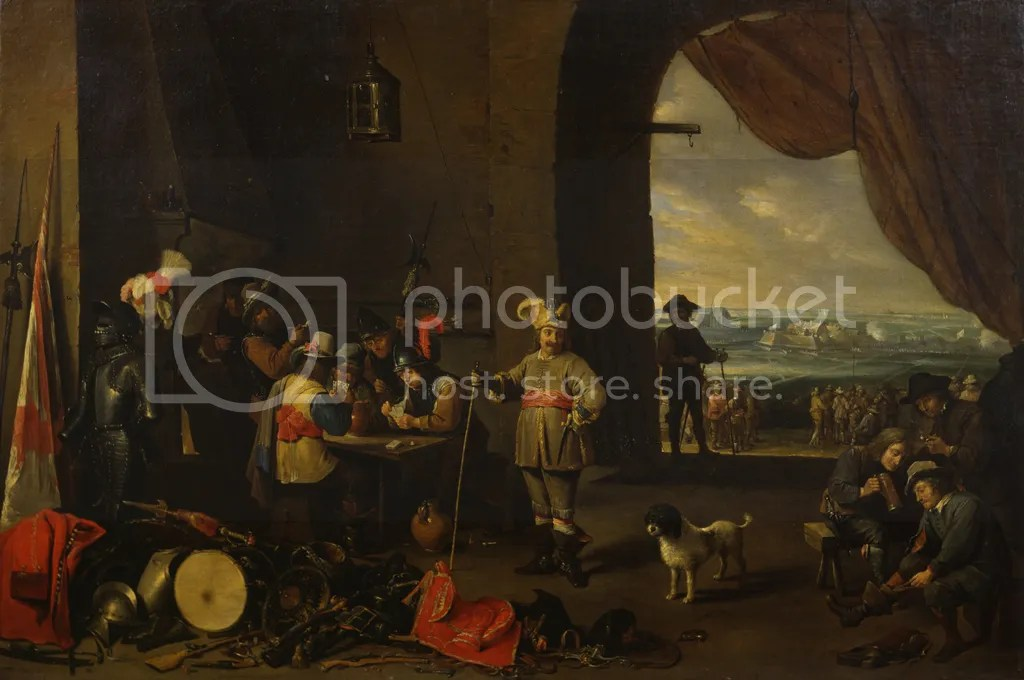 David Teniers d. J., Eine Wachtstube, ca. 1642