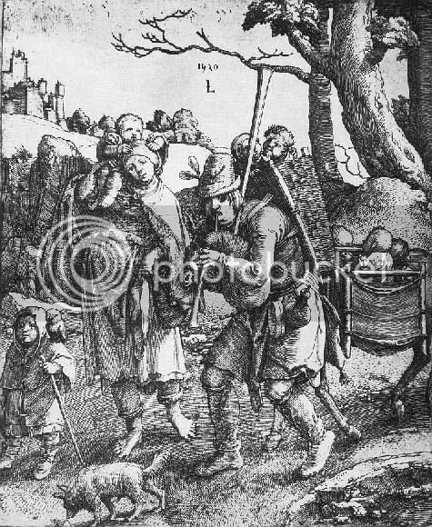 Lucas van Leyden, Ulenspiegel, 1520