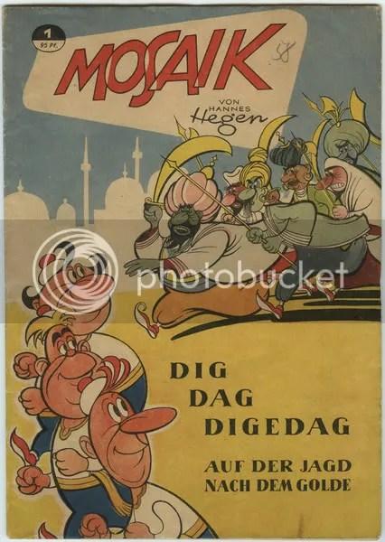 Mosaik 1, Dig Dag Digedag auf der Jagd nach dem Golde