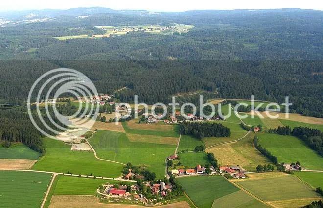 Neuenhammer, Georgenberg, Rehberg, Pfifferlingstiel und Umgebung in Luftbild Oberpfalz