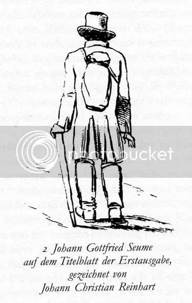 Johann Gottfried Seume, Spaziergang nach Syrakus. Titelblatt der Erstausgabe, gezeichnet von Johann Christian Reinhart, 1803