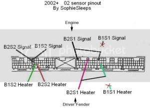 Is this diagram right :D b1s1 into b2s1  Lexus IS Forum