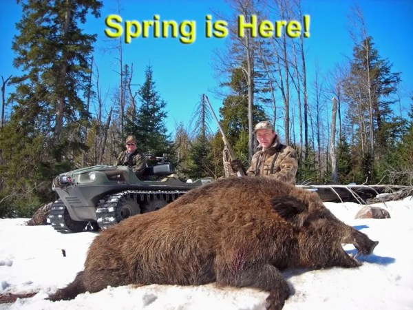 Russian Boar Bucket List