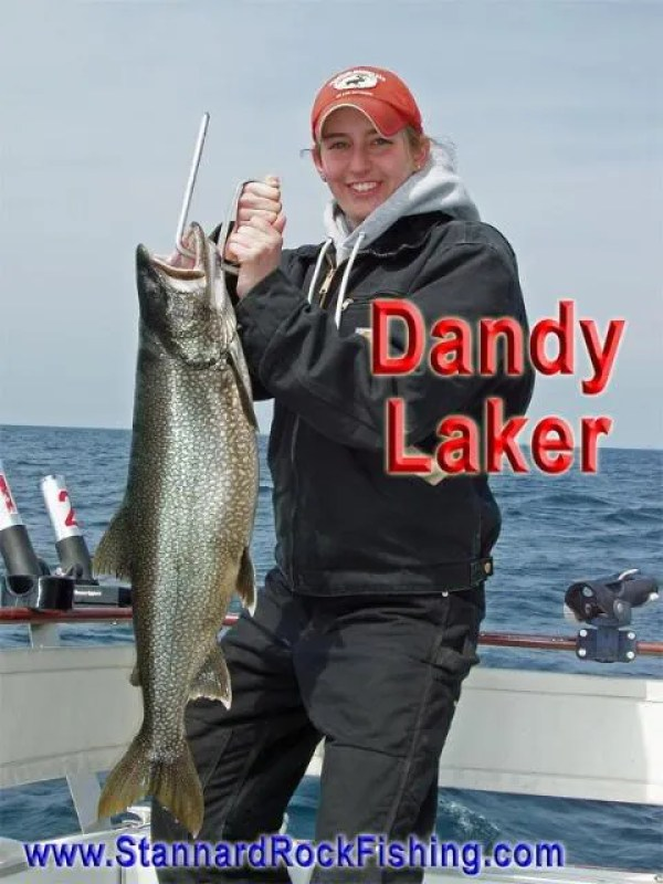 DandyLaker Fishing the Rock   Click Below for Much More...