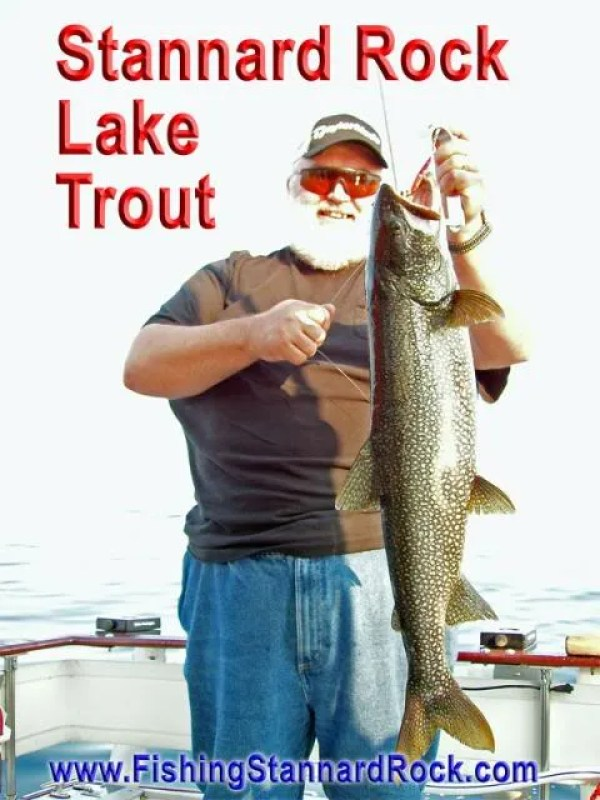 stannardrockLaketrout Fishing the Rock   Click Below for Much More...