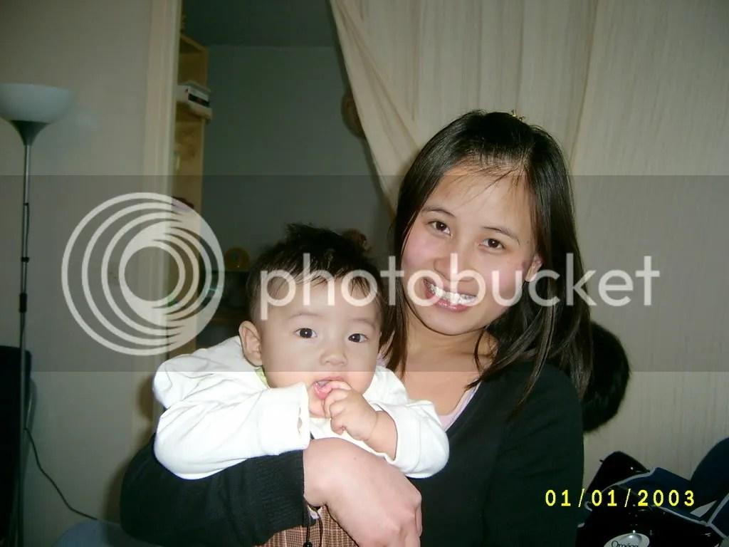 avec maman Hue