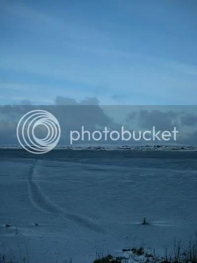 Frozen Orkney Loch