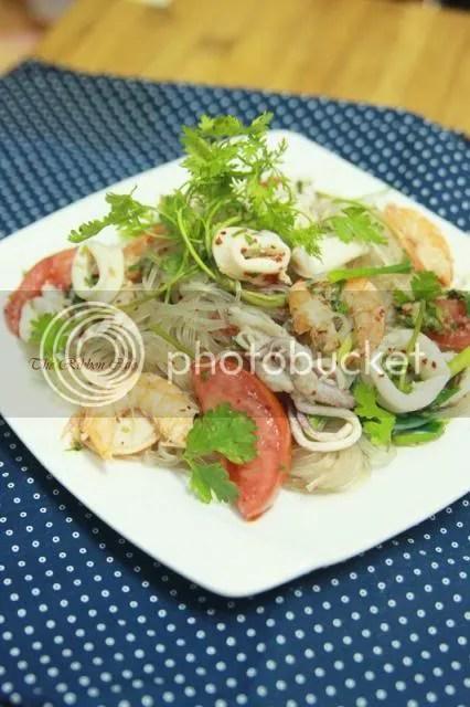 Gỏi Miến Hải Sản Kiểu Thai The Ribbon Cafe