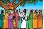 Yesus, Zakheus, Farisi