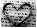 kasih tidak pernah gagal, love never fails