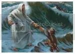 melangkah dengan iman, berjalan di atas air