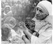 kemiskinan yang paling miskin, bunda teresa, mengasihi sesama, membantu orang lain