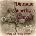 Dinosaur Superhero Mommy