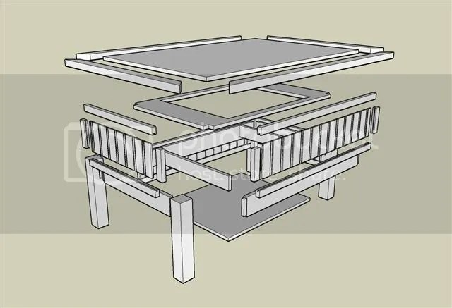 Lift Coffee Table #1: It starts with a plan... - by Greg Wurst ...