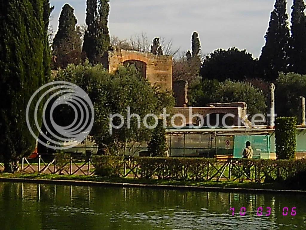villa adriana spring