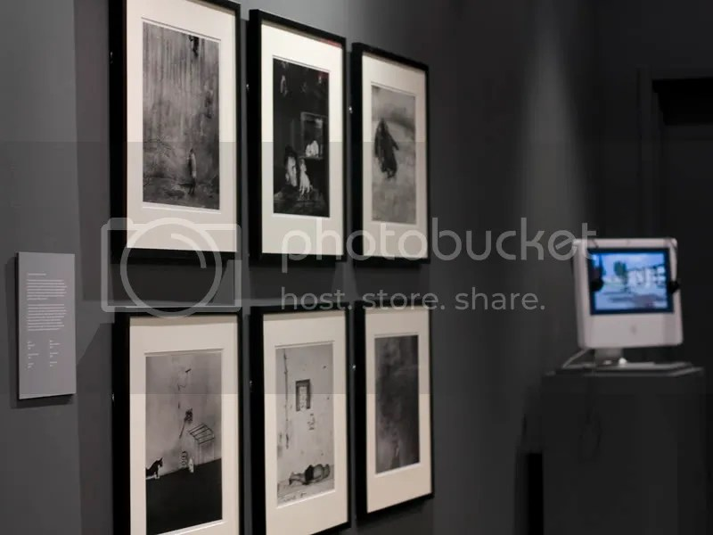 installation view with Vredeveld video, OCAD Pro Gallery