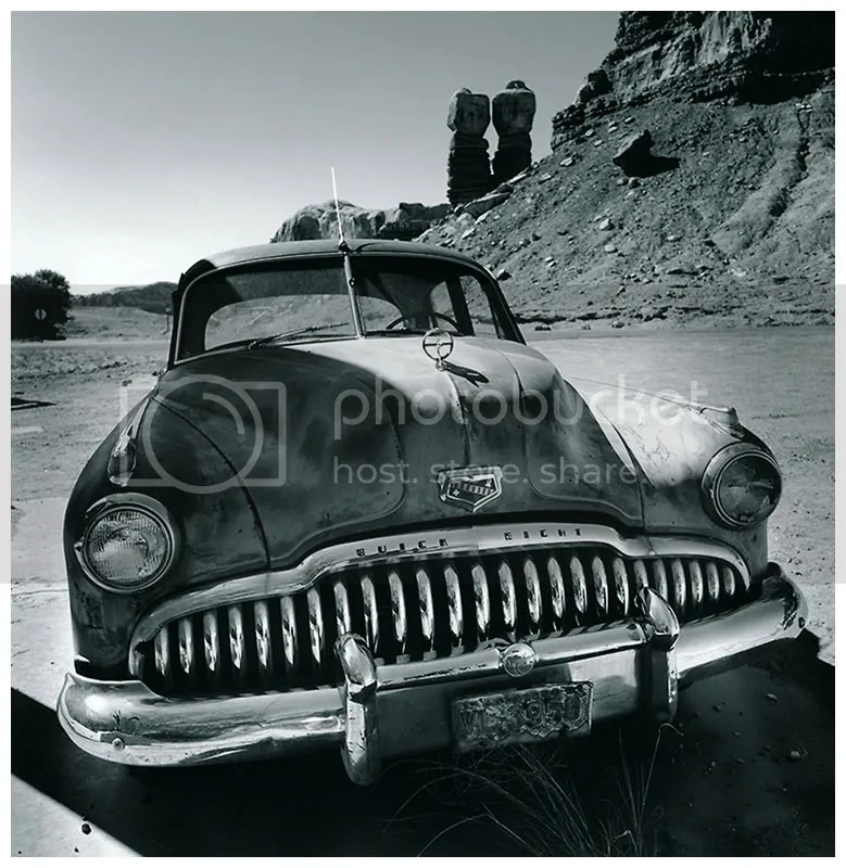 Stephen Cooper: Buick Eight (from the series, Desert Ghosts)