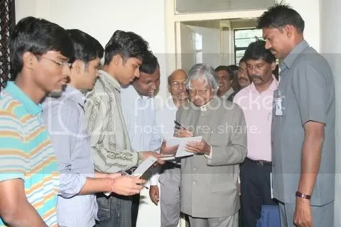 Myself and Dr kalam - 1